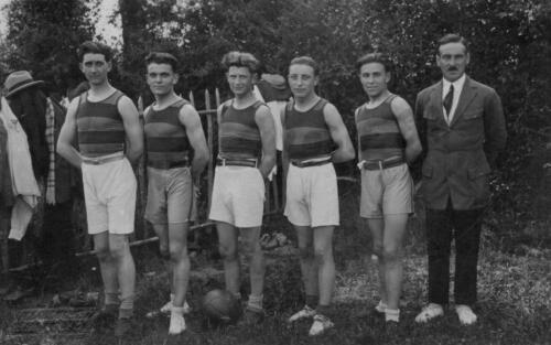 Équipe de football - Farebout (1928)