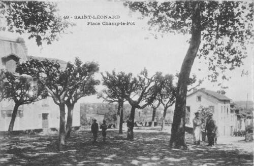 Place Champ-le-Pot