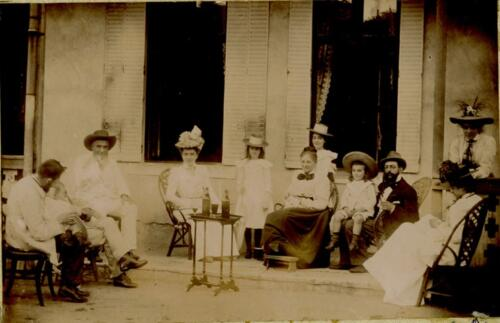 À Bassoleil - Famille Gay-Lussac (1901)