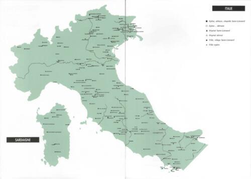 Italie du nord et centrale Sardaigne