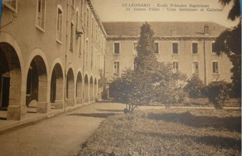 EPSJF - Cour intérieure et galeries