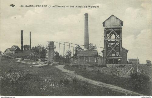 Les mines de wolfram