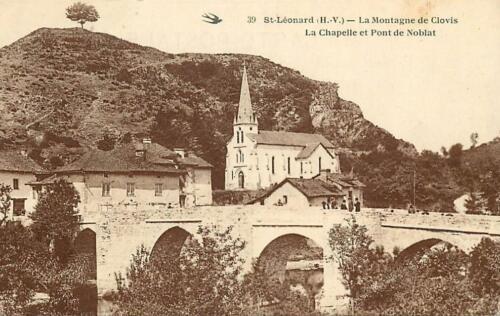 La montagne de Clovis et la chapelle