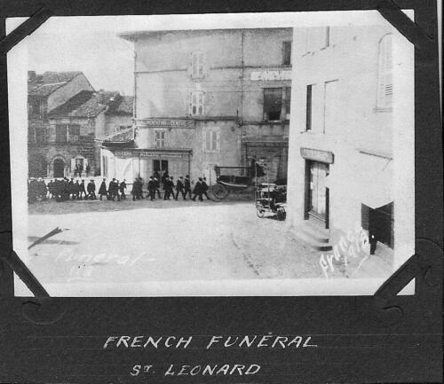 Saint Léonard - French Funeral (1918)
