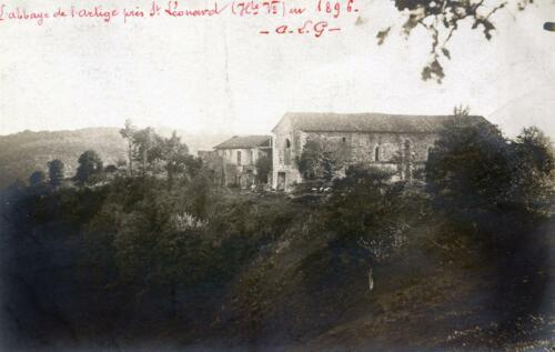 Abbaye de l'Artige - 1896