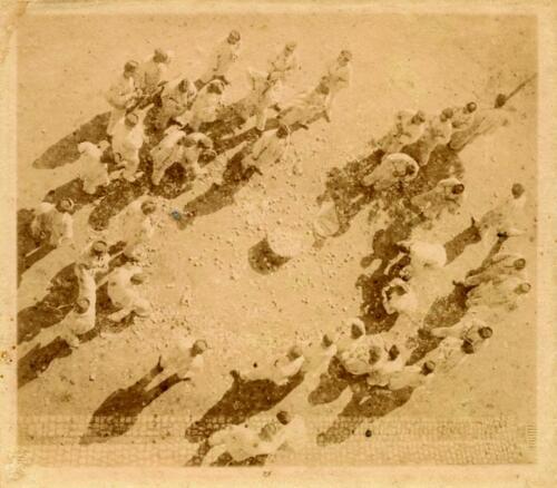 Château du Repaire de Tardivet - Soldats. 15-17 août 1902