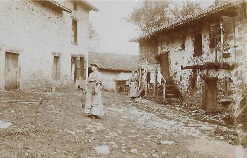 Ferme du Fermigier en 1910