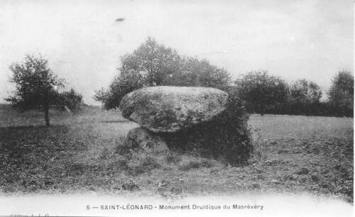 Le monument druidique de Masrévéry