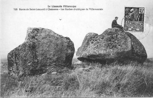 Les Roches druidiques de Villemonteix