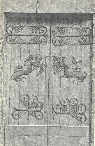 Porche - Pentures (dessin)