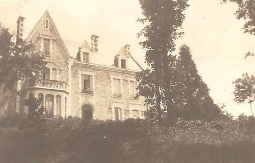 Villa de l'Ermitage à Farebout, 1910